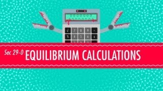 Equilibrium Equations: Crash Course Chemistry #29