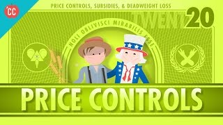 Price Controls, Subsidies, and the Risks of Good Intentions: Crash Course Economics #20