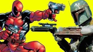 NERD WARS: Boba Fett vs. Deadpool