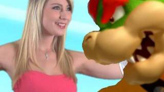 PEACH GOES GAGA! Super Mario Bromance -- Black Nerd Comedy