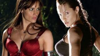 NERD WARS: Lara Croft Vs. Elektra!