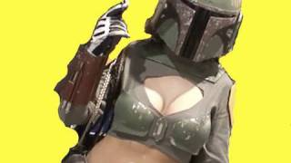 SEXY BOBA FETT ??? Comic-Con Cosplay IMPROV COMMENTARY [PART 1]