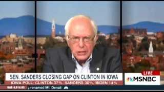 Bernie Sanders Deals With Ridiculous Interview Questions
