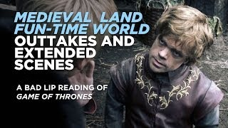 """BONUS AND EXTENDED SCENES — """"MEDIEVAL LAND FUN-TIME WORLD"""""""