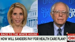 Bernie Sanders Pressed On 'Medicare For All' By CNN Host