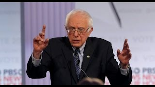 "Bernie Sanders Asked About Evil ""Big Government"""