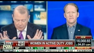 Fox Host Discusses Women In Combat, It Gets Awkward