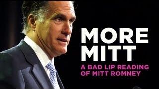 """""""More Mitt"""" — A Bad Lip Reading Soundbite"""