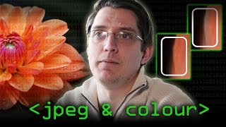 JPEG 'files' & Colour (JPEG Pt1)- Computerphile