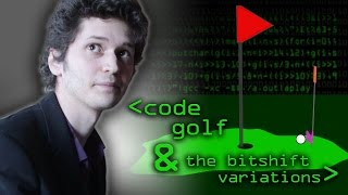 Code Golf & the Bitshift Variations - Computerphile