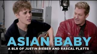 """Asian Baby"" - Justin Bieber and Rascal Flatts ""That Should Be Me"", cover by a bad lip reader"