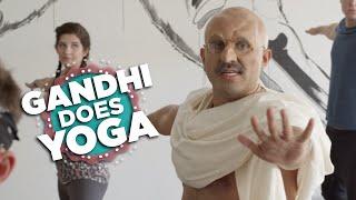 If Gandhi Took A Yoga Class