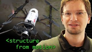Structure from Motion Octocopter - Computerphile