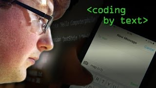 Coding by SMS text message - Computerphile