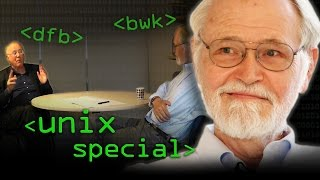 UNIX Special: Profs Kernighan & Brailsford - Computerphile
