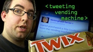 The Tweeting Vending Machine Hack - Computerphile