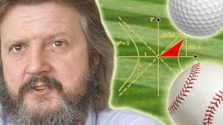 Playing Sports in Hyperbolic Space - Numberphile