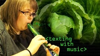 Texting Cabbage with a Recorder - Computerphile