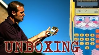 Calculator Unboxing #5 (Little Professor) - Numberphile