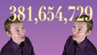 Why 381,654,729 is awesome - Numberphile