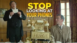 Stop Looking At Your Phones ('The Britishes')