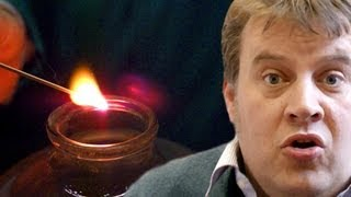 Lighting a Splint (slow motion) - Periodic Table of Videos