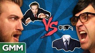 Invisibility vs. Flight: Debate-o-Rama