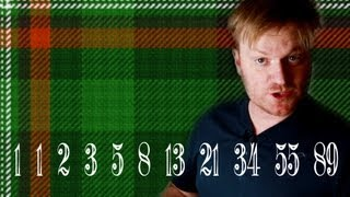 Fibonacci Tartan and Bagpipes - Numberphile