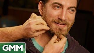Petting Rhett's Beard