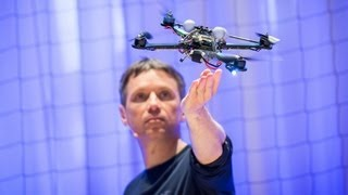 The Astounding Athletic Power of Quadcopters | Raffaello D'Andrea | TED Talks