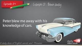 Daily English Vocabulary E07 | Free ESL lesson | Vocabulary