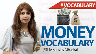 Money Vocabulary - Free English Lesson ( ESL)