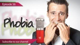 Daily Video Vocabulary  - Episode 56 ( ESL) Phobia - English Speaking Lesson