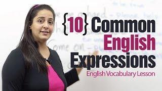 10 useful English expressions - English Vocabulary Lesson