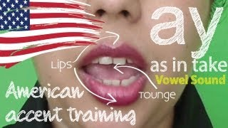 American Accent Training - Part 02 | Vowel sound AY | Free English Lesson ( ESL)