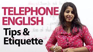 Telephone Tips & Etiquette - Telephone Etiquette to sound impressive - Free English lesson