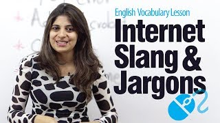 Internet Slang & Jargon - English Vocabulary Lesson