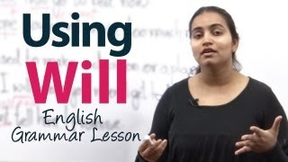 "Using 'Will"" - Grammar ESL Lesson"