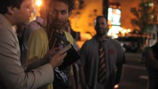 Crazy Preacher Protests Harry Potter & The Deathly Hallows Pt. 2 Screening