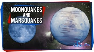 Moonquakes and Marsquakes
