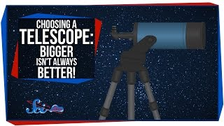 Choosing a Telescope: Bigger Isn't Always Better!