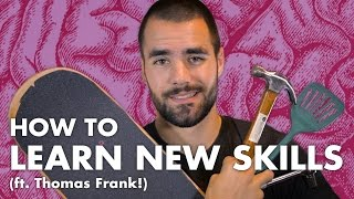 How to Learn New Skills Quickly (ft. Thomas Frank!)