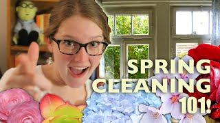 8 Tips for Spring Cleaning & Getting Organized!