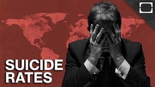 Which Countries Have The Highest Suicide Rates?