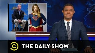 The Daily Show with Trevor Noah - Jeb Bush and the Age of Superheroes