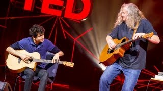 Usman Riaz and Preston Reed: A young guitarist meets his hero