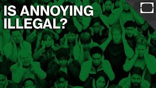 When Is Annoying Illegal?