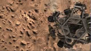 The Curiosity Rover Landing