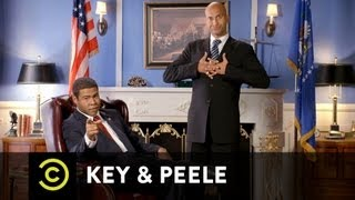 Key & Peele - Obama's Anger Translator - On the Town Hall Debate